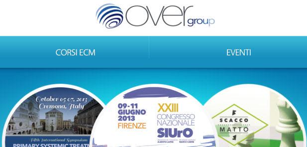 Over Group srl - Sviluppo sito web